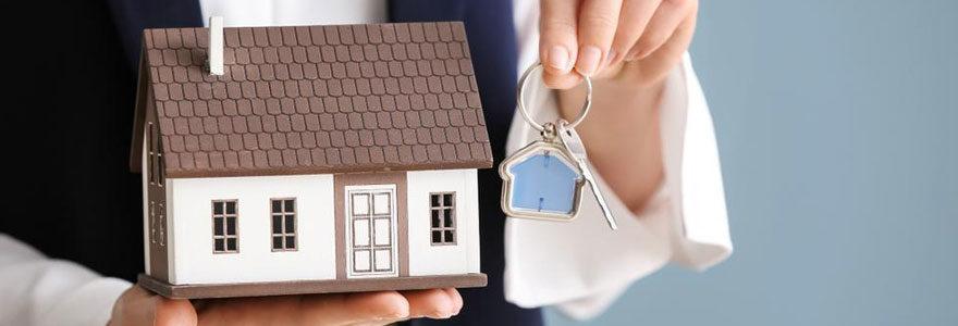 Une agence immobilière